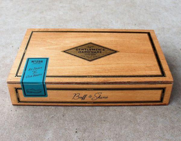 morpeth gift gallery hunter valley gentleman's hardware shoe shine kit cigar vintage style box buff shine polish