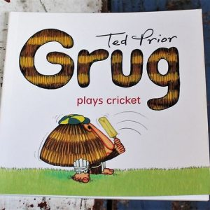 morpeth gift gallery hunter valley grug plays cricket book children's story ted prior 40th birthday anniversary 2019 australian character