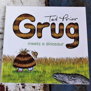 Book – Grug Meets a Dinosaur