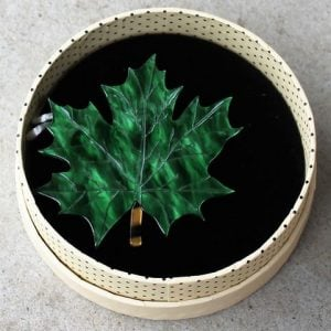 Erstwilder Brooch – King of Our Forest (Maple Leaf)