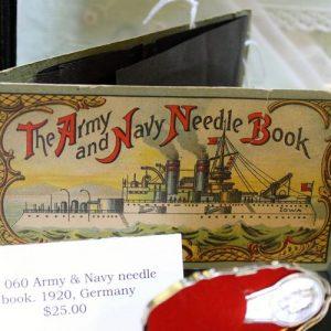Army & Navy Needle Book