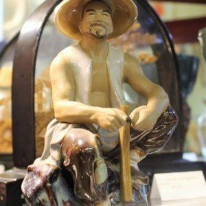 Chinese Male Figurine