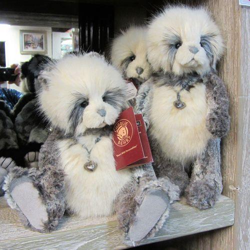 morpeth teddy bears Charlie plush Alexandra