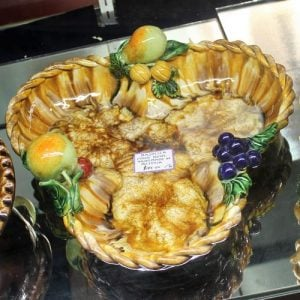 Majolica Fruit Bowl