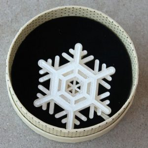 Erstwilder Brooch – Winter Wonderland