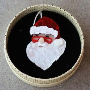 Erstwilder Brooch – Father Christmas