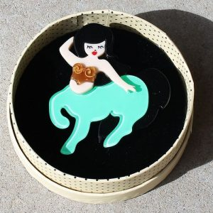 Erstwilder Brooch – Sarah the Centauress (Centaur)