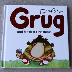 Grug & His First Christmas Book- Hard Cover