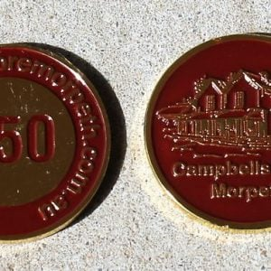Campbell's Store Gift Medallion