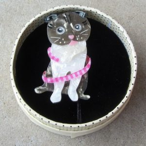 Erstwilder Brooch – Adorable Opie (Cat)