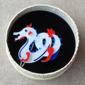 Erstwilder Brooch – Tatsu the Terrifying (Dragon)