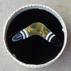 Erstwilder Brooch – What Goes Around (Boomerang)
