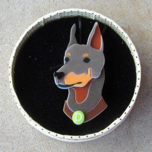 Erstwilder Brooch – Patrick Pinscher (Dog)