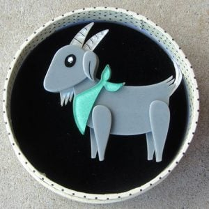 Erstwilder Brooch – Billie the Kid