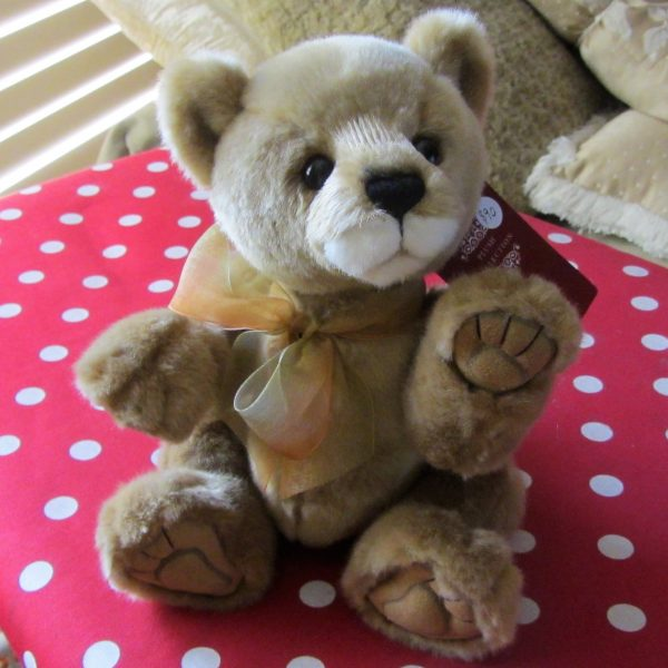 Morpeth Teddy Bears Charlie Bear Nuala lion cub