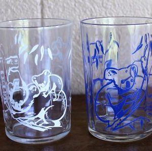 Swanky Swig Glass Set of Four – Koalas