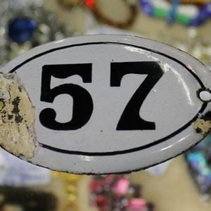 Enamelled Number 57