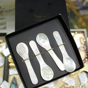 Boxed Set of Caviar Spoons