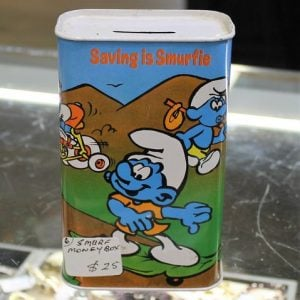 Smurf Money Box