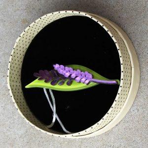 Erstwilder Brooch – Lavender Daze