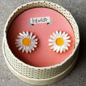 Erstwilder Earrings – She Loves Me (Daisy)