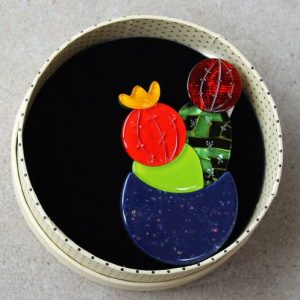 Erstwilder Brooch – Cactus Jack