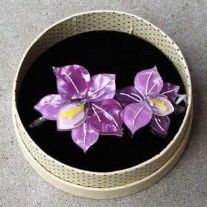Erstwilder Brooch – Opulent Orchidaceae (Orchid)
