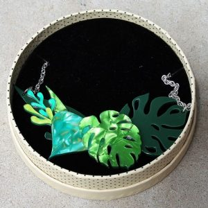 Erstwilder Necklace – Fronds of Fancy (Small)