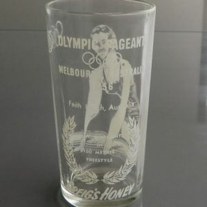 Melbourne Olympics 1954 Glass – Faith Leech