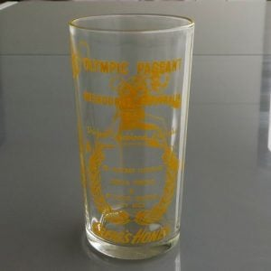 Melbourne Olympics 1954 Glass – Shirley Strickland
