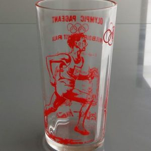 Melbourne Olympics 1954 Glass – John Landy