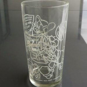 Barnes Honey Disney Glass – Dopey & Uncle Scrooge