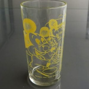 Barnes Honey Mickey Mouse Glass