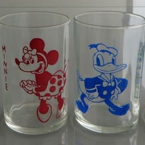 Disney Set of Four Glasses