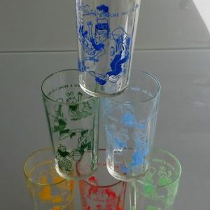 Jack & Jill Set of Six Glasses
