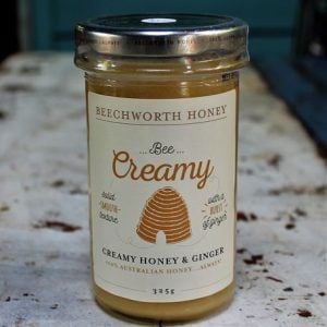 Creamed Honey with Ginger