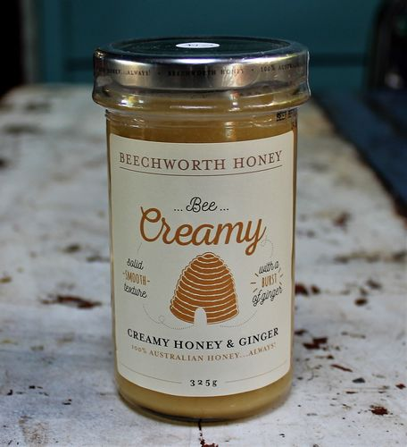 morpeth gourmet foods hunter valley gift 100% pure honey beechworth bee cause raw straight line ginger creamed