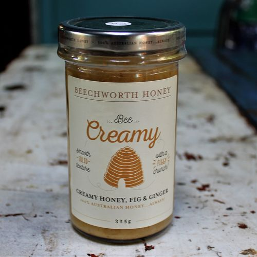 morpeth gourmet foods hunter valley gift 100% pure honey beechworth bee cause raw straight line creamed fig ginger
