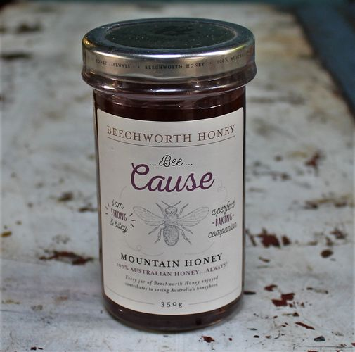 morpeth gourmet foods hunter valley gift 100% pure honey beechworth bee cause raw straight line mountain