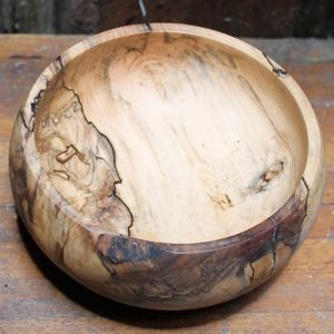 Spalted Elm Timber Bowl