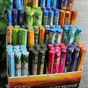 Incense available at Hyde & Silk