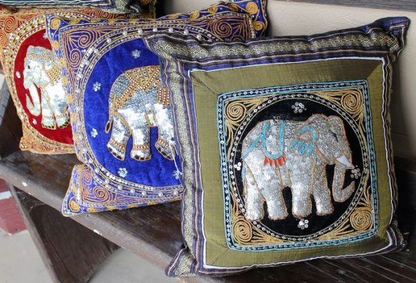 morpeth antique centre hunter valley hyde & silk fashion boutique fair trade clothing and giftware elephant cushions