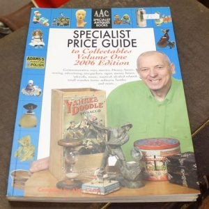 Specialist Price Guide to Collectables Volume One