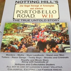 morpeth antique centre hunter valley alan carter hard cover portobello road the untold history notting hill