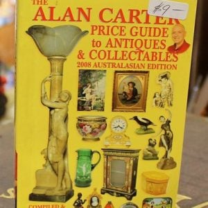 morpeth antique centre hunter valley alan carter pocket reference guide book hardcover yellow edition 2008 collectables antiques