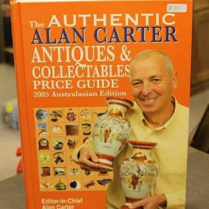 Alan Carter Price Guide – Orange