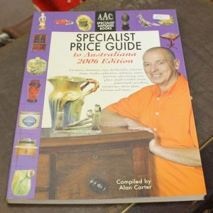 Specialist Price Guide for Australiana