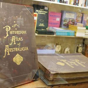 morpeth antique centre hunter valley atlas of australasia volume one two three 1899 rare antiquarian book picturesque