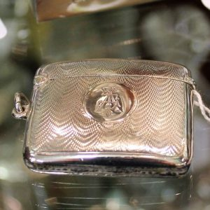 Silver Vesta Case