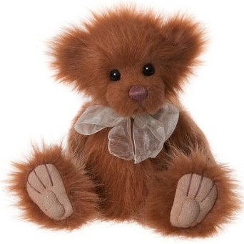 Morpeth Teddy Bears Charlie bear collectible plush 2019 Hunter Valley Butterscoth